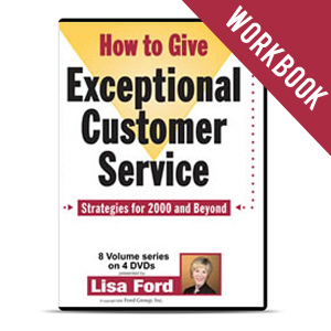 how to give exceptional customer service workbook lisa ford. Cars Review. Best American Auto & Cars Review